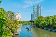 Kanal i Bangkok Royaltyfri Bild