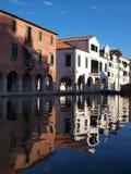 Kanal i Chioggia Arkivfoton