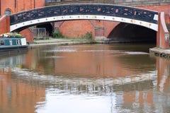 Kanal i Manchester Royaltyfri Bild
