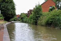 Kanal i Stratford Arkivbild