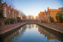 Kanal i Wapping royaltyfria bilder