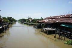 Kanal Klong Suan Lizenzfreies Stockbild