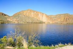 Kanal Lake, Arizona, USA Arkivbilder