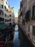 Kanal nära San Marco Royaltyfria Bilder