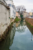 Kanal Padua arkivfoto