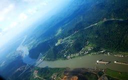 kanal panama Royaltyfri Fotografi