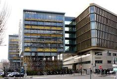 Kanal plus Fernsehgebäude Lizenzfreies Stockbild
