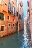 Kanal Rio San Giovanni Crisostomo Venedig Italien stockfoto