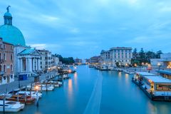kanal stora italy venice arkivbilder
