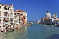 kanal storslagna italy venice Royaltyfri Foto