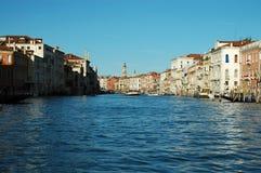 kanal storslagna italy venice Royaltyfria Bilder