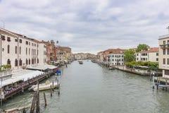 kanal storslagna italy venice arkivfoto