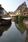 kanal strasbourg Arkivfoto