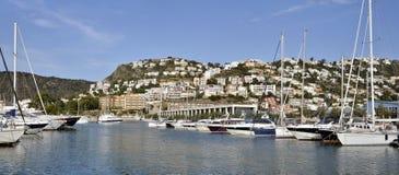 Kanal und Stadt der Rosen in Spanien Stockfoto