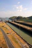 Kanal und Verriegelungen Stockfoto
