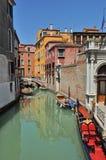 Kanal in Venedig Lizenzfreie Stockfotografie