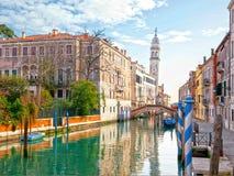 Kanal in Venedig lizenzfreies stockfoto