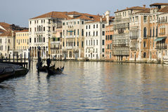 Kanal in Venedig Stockfotografie