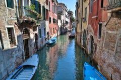 Kanal, Venedig Italien stockfoto