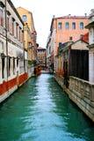 kanal venice Royaltyfri Fotografi