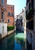 kanal venice Royaltyfri Foto