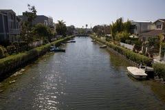 kanal venice för 2 Kalifornien Arkivfoton