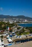 Kanal von Acapulco Lizenzfreie Stockfotos