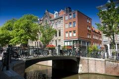 Kanal von Amstrerdam Lizenzfreie Stockbilder
