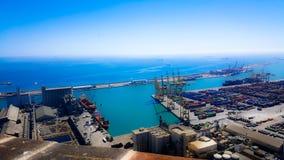 Kanal von Barcelona stockfotos
