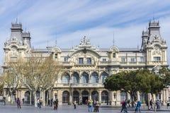 Kanal von Barcelona Lizenzfreie Stockfotos