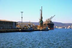 Kanal von Gdynia Lizenzfreies Stockbild