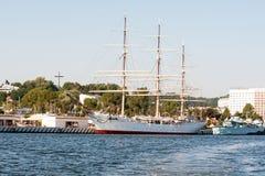 Kanal von Gdynia Stockfoto