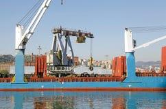 Kanal von Genua, Italien Stockfoto