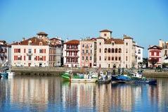 Kanal von Heilig-Jean-De-Luz lizenzfreie stockfotografie