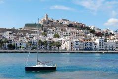 Kanal von Ibiza Stockbilder