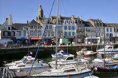 Kanal von Le Croisic in Frankreich Stockfoto