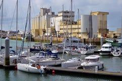 Kanal von Les Sables d'Olonne in Frankreich Lizenzfreies Stockfoto