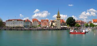 Kanal von Lindau Stockbilder