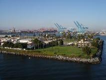 Kanal von Long Beach, CA Stockfotos