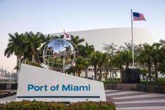 Kanal von Miami Lizenzfreies Stockbild