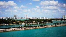 Kanal von Miami Lizenzfreies Stockfoto