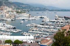 Kanal von Monaco Lizenzfreie Stockfotos