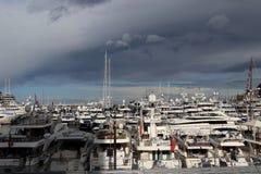 Kanal von Monaco Stockfotos