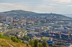 Kanal von Murmansk Lizenzfreie Stockbilder