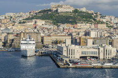 Kanal von Neapel stockbilder