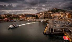 Kanal von Neapel Stockfotografie