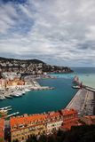 Kanal von Nizza in Frankreich Stockfoto