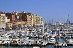 Kanal von Nizza in Frankreich Stockfotos