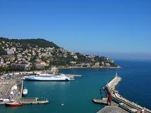 Kanal von Nizza, Frankreich Stockfotos