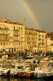 Kanal von Nizza nach dem Sturm lizenzfreie stockfotos